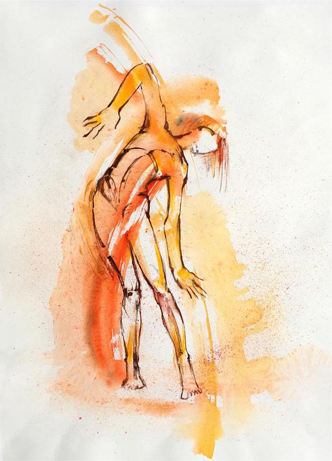 Farbskizze 05 - Heidemarie Franz