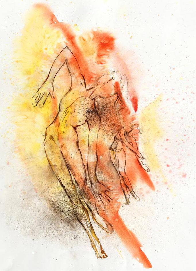 Farbskizze 04 - Heidemarie Franz