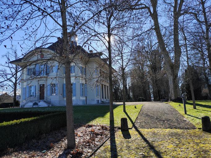 Das Schloss Hofwil wurde 1784–86 gebaut.