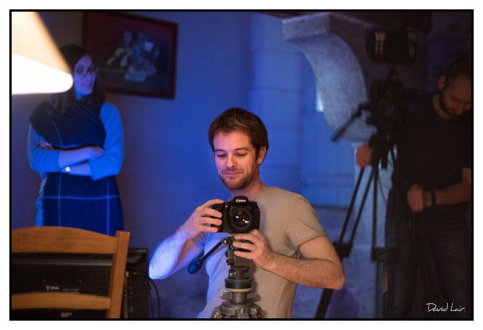 Le réalisateur. Par David Lair Photographe à Ancenis.