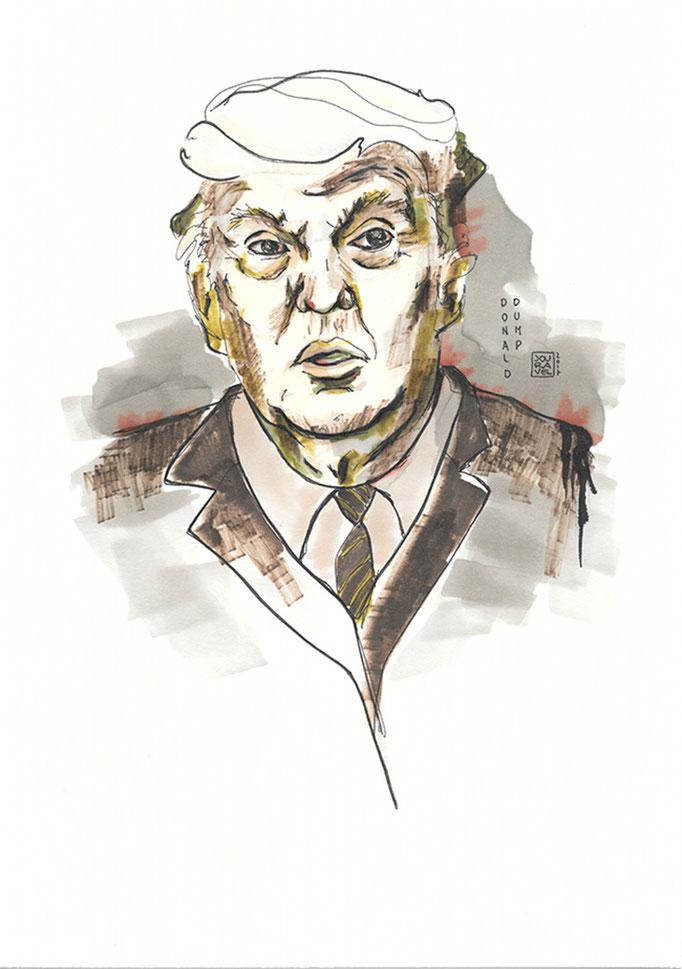Portrait Donald Dump