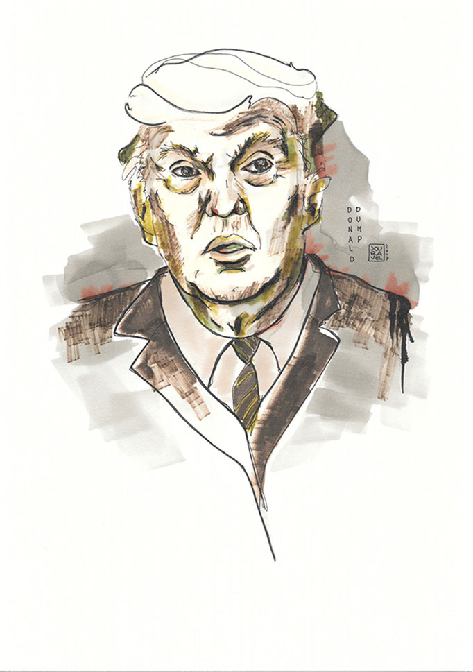 Portrait Donald Dump