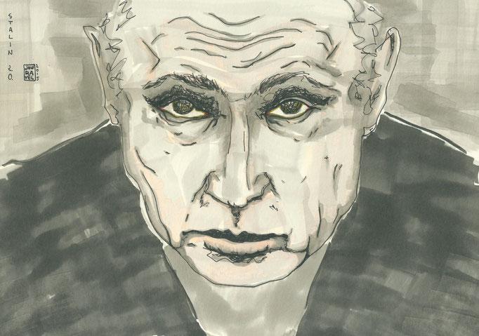 "Karikatur ""Wladimir Putin"" 2015"