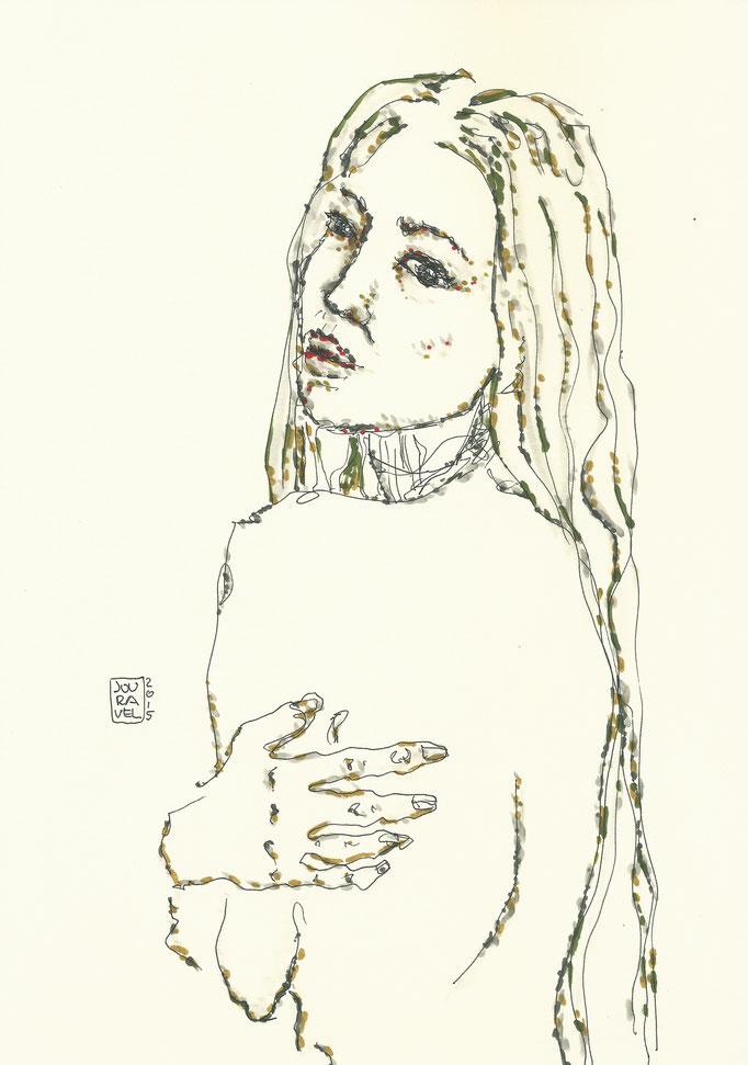 Akt Portrait