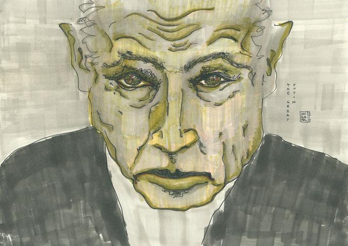 """Karikatur """"The great Putin"""" 2015"""