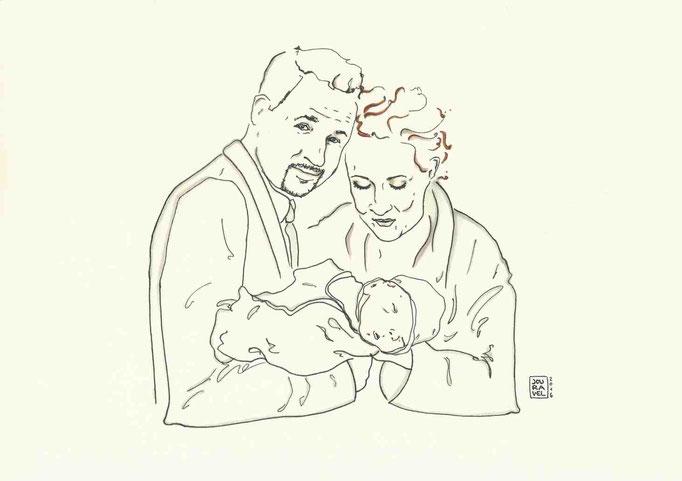 Kunden Familien Portrait 2016