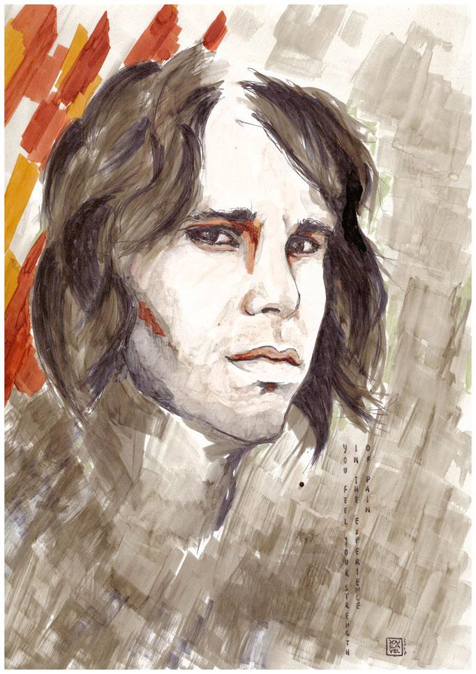 Portrait Jim Morrison 2017