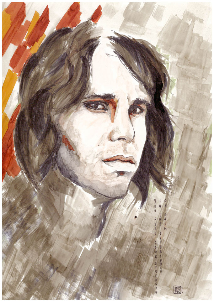 Portrait Jim Morrison 2017