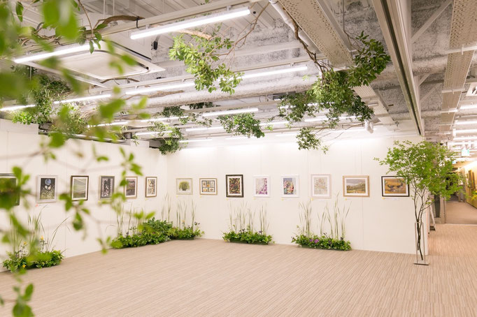 日本ヴォーグ社 展示会装飾