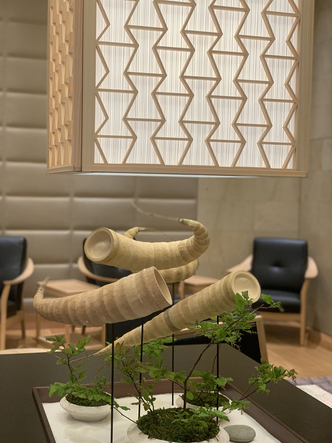 レクサス 「竹」造形
