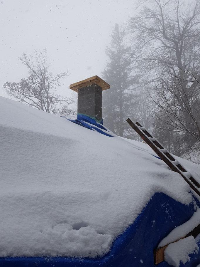 schon wieder Schnee!