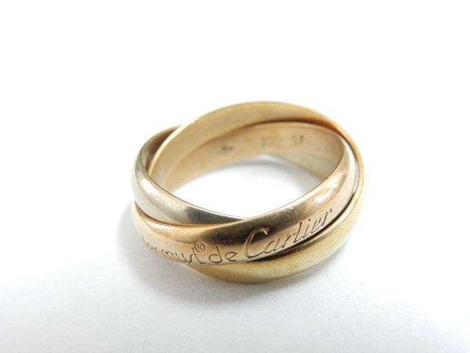 買取 カルティエ トリニティ 3連 リング/指輪