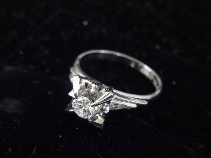 買取り 縦詰め 婚約指輪