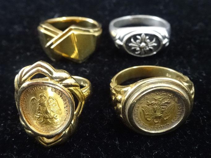 買取り コイン 指輪