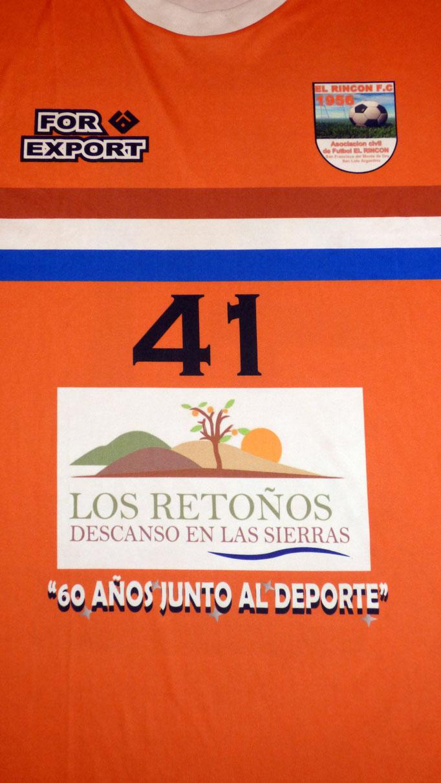 Asociacion civil de futbol El Rincón Futbol club - San Francisco del Monte de Oro - San Luis.