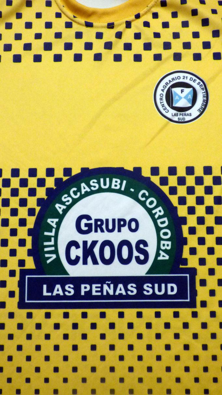 Club Agrario 21 de Septiembre -  Las peñas sud - Córdoba.