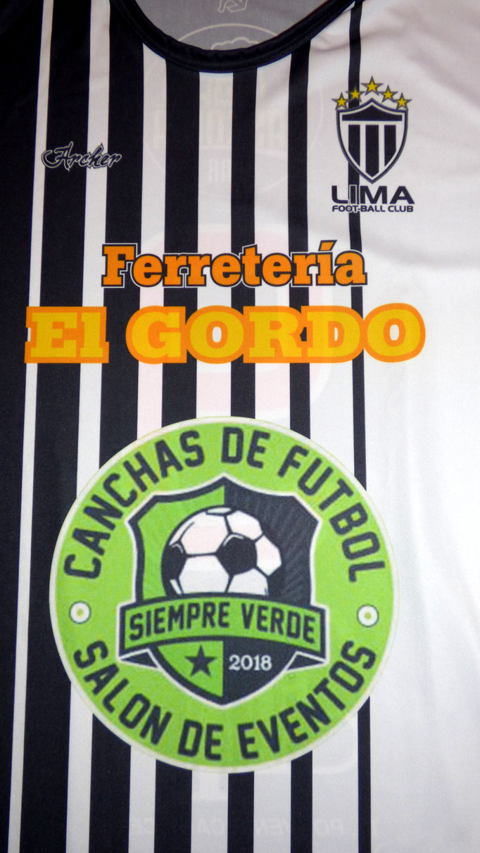 Lima Foot Ball Club - Lima - Buenos Aires.