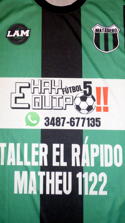 Matadero Football Club - Zarate - Buenos Aires.