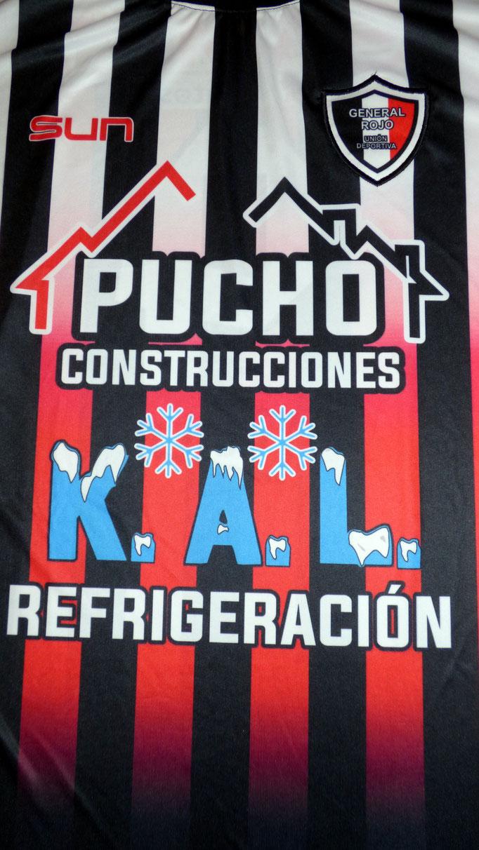 Club General Rojo Union deportiva - General Rojo - Buenos Aires.