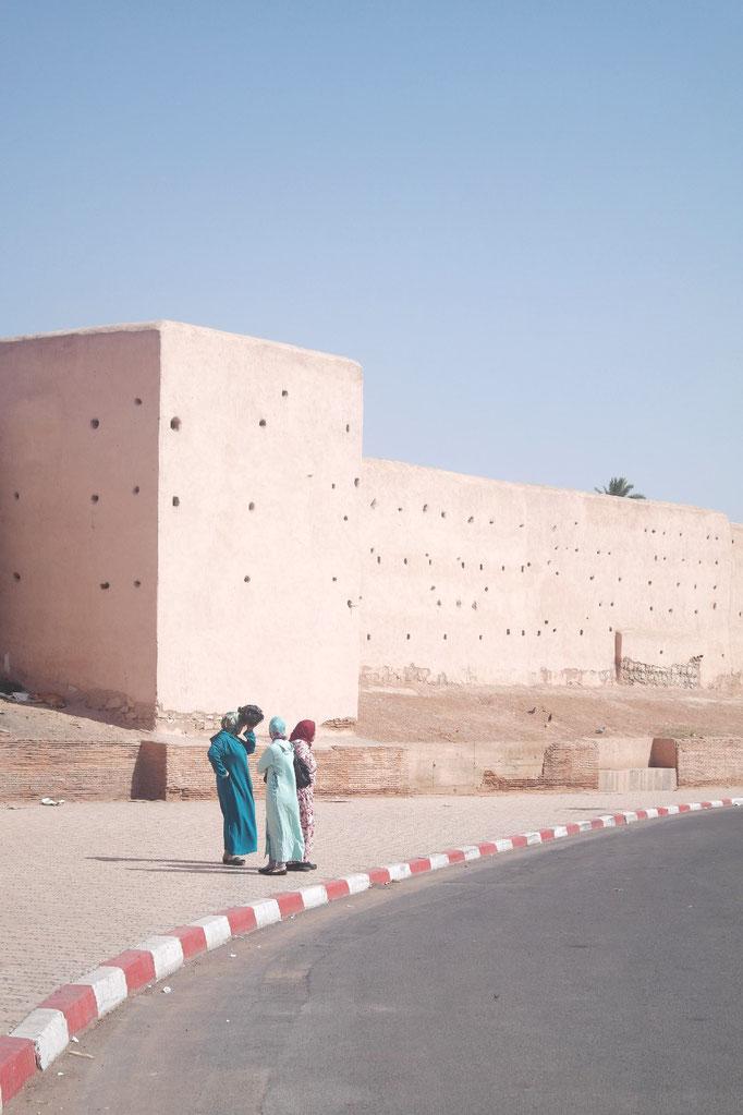 Les remparts de la médina