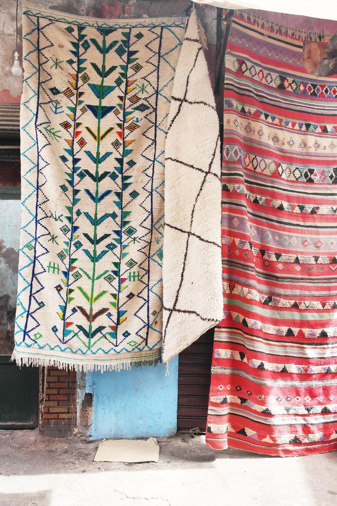 Le souk des tapis