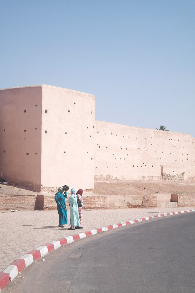 The walls of the medina