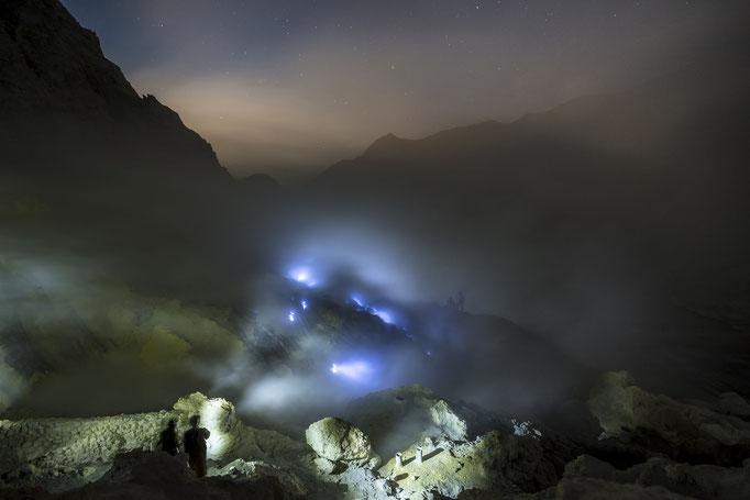 Devils Mine Vulkan Kwah Ijen Java Indonesien, Oktober 2018 © martinsieringphotography