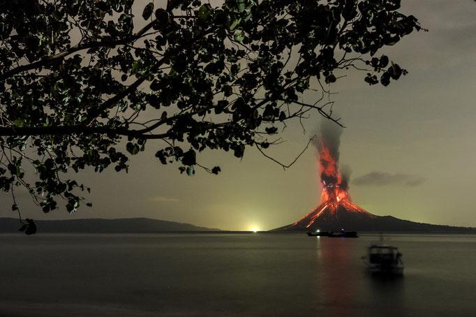 Anak Krakatau Indonesien Sunda Strasse, Oktober 2018 © martinsieringphotography