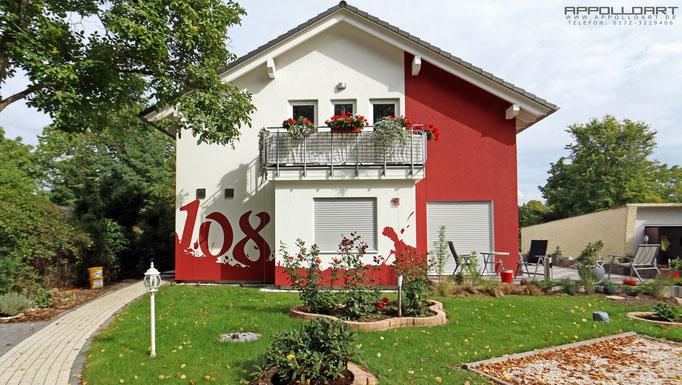 modere zeitlose  Fassaden -Gestaltung im 3d Bilder Effekt Berlin