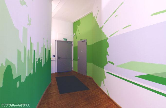 Loft Gestaltung Büroklima in 3D