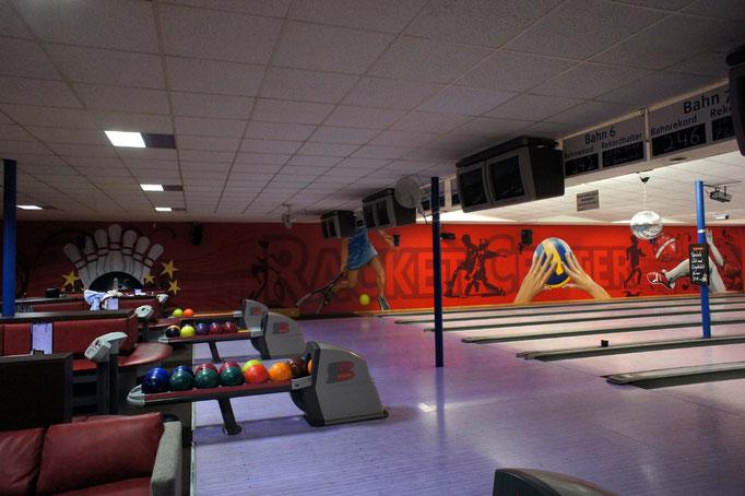 Bowlingbahn Airbrush