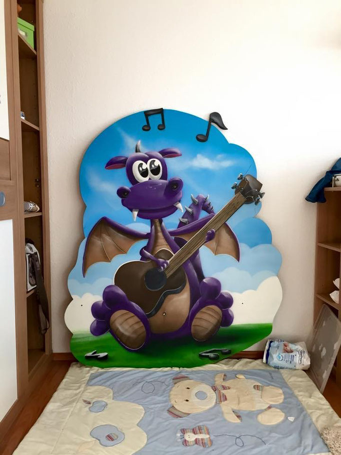 kreative kinderzimmer ideen graffiti airbrush appolloart graffiti airbrush wandgestaltung. Black Bedroom Furniture Sets. Home Design Ideas