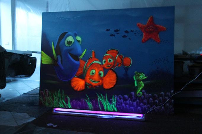 Graffiti maler für zu hauseairbrush fürs kinderzimmer