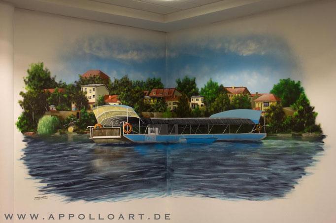 Graffiti Strausberg und Airbrush Malerei durch Graffitikünstler Berlin