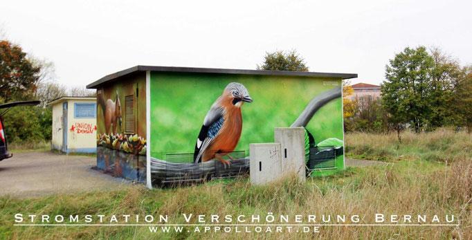 Farbenfroh, optimistisch, zeitlos Bilder für das Wohnzimmer Flur Eigenheim hier gemalt für die Stadtwerke Bernau