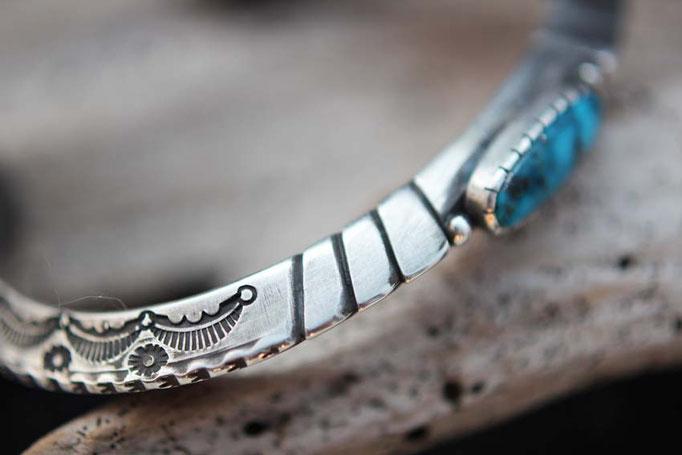 Kingman turquoise ,ターコイズブレスレット