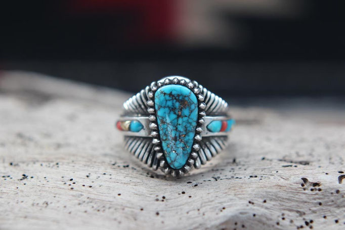 Morenci Turquoise ,ターコイズリング