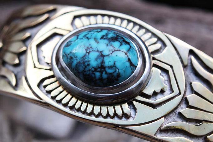 Hubei turquoise,ターコイズブレスレット