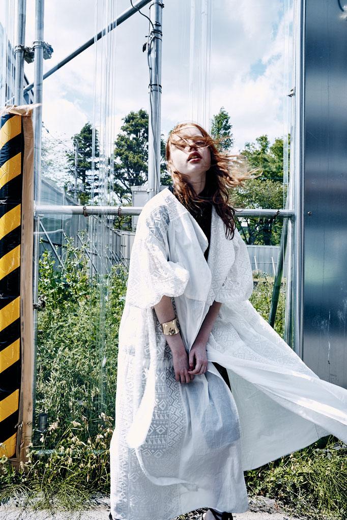 photographer : Hironori Sakunaga        stylist : Showso Kaziko         hair : Miki Masue        model : Terry