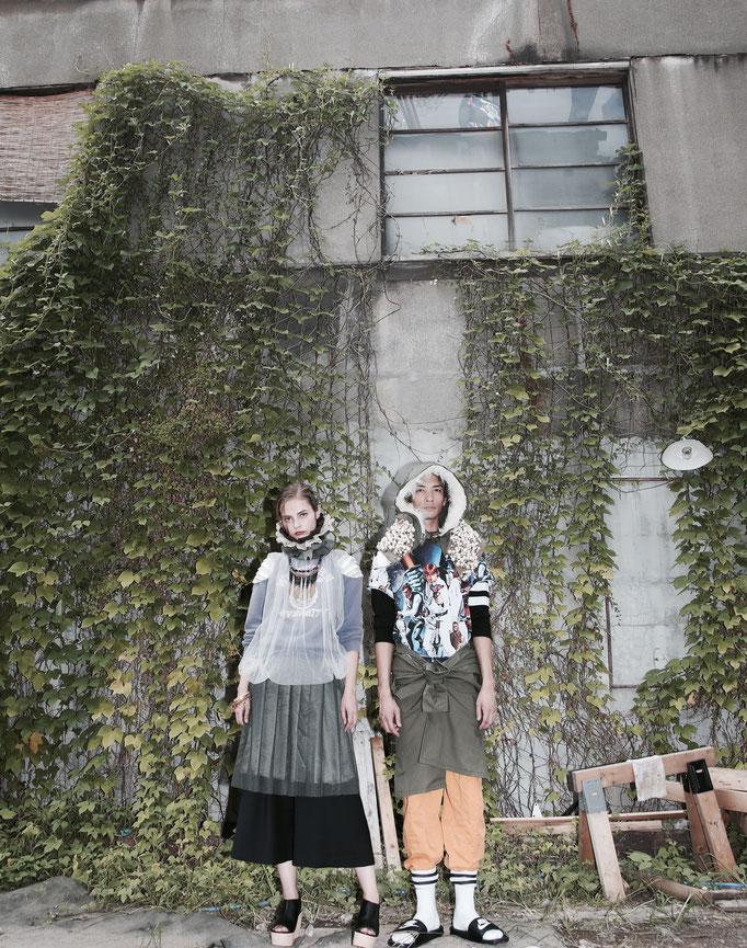 photographer : Margo Di        stylist : Showso Kajiko        model : Jovita , Fal