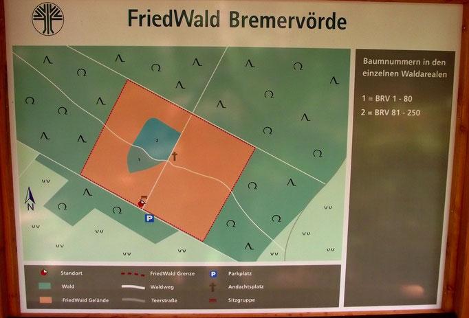 FriedWald Bremervörde, An der Höhne, Infotafel, www.oste-town.de