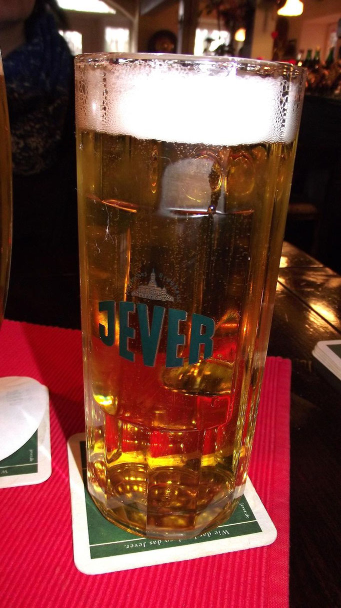 "Restaurant ""RHODOS"" Jever Pilsener"