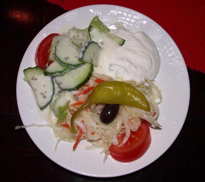 """Restaurant """"RHODOS"""" - gemischter Salat -"""