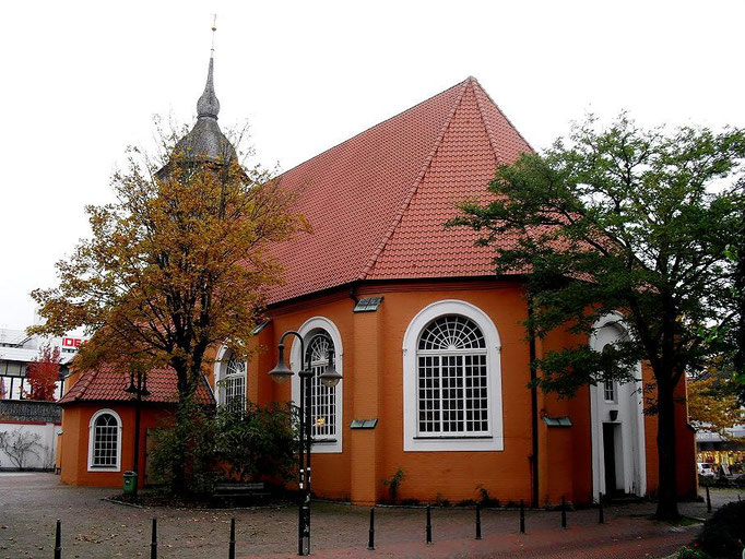 St. Liborius Kirche in Bremervörde Foto 28.10.2010