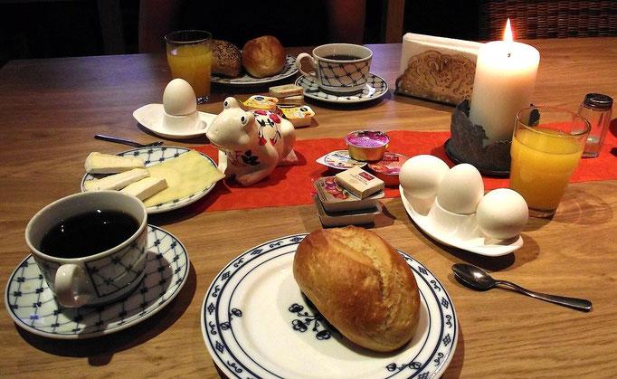 Up Diek Frühstücksraum
