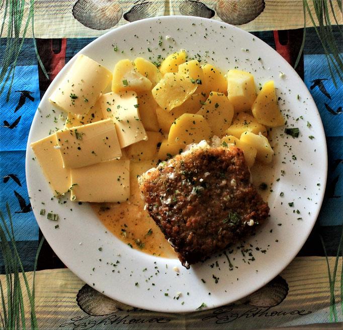28.10.2019 Kräuterfisch mit Kartoffeln und Butter