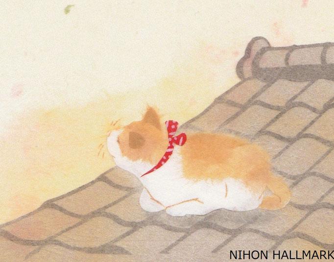便箋「なごみ猫」より (C)NIHON HALLMARK