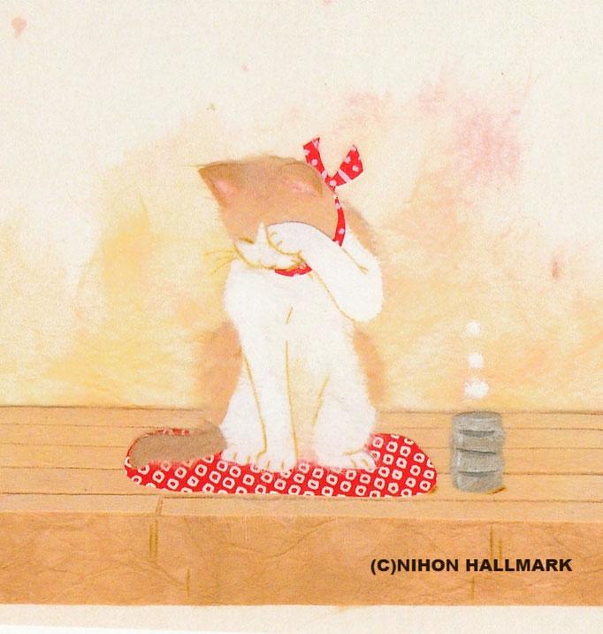 便箋「なごみ猫」より(C)NIHON HALLMARK