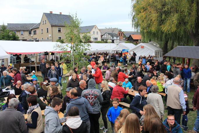 Fischfest in Wellsdorf