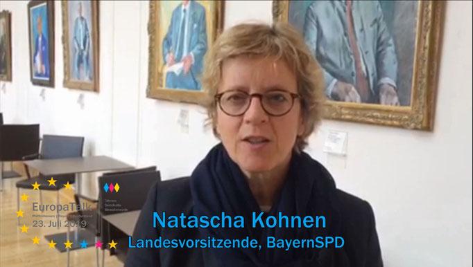 Natascha Kohnen, Landesvorsitzende BayernSPD